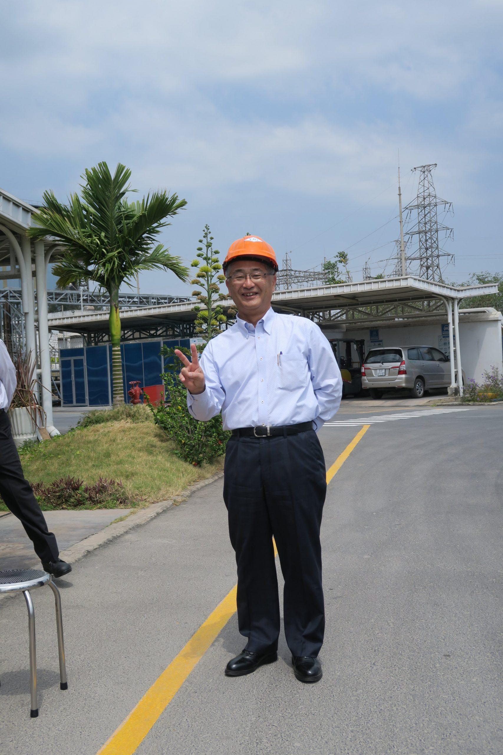 Message from Mr. Haruhiko Yasuga