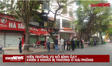 Oxygen cylinder exploded in Hai Phong