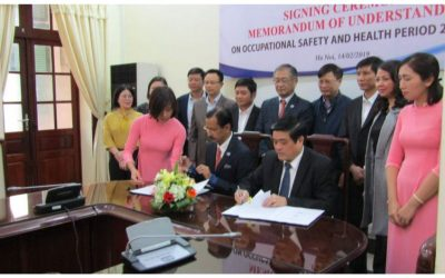 MOU signing ceremony bewteen AIGA and DWS - Feb 14, 2019